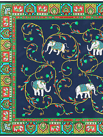 Roeckl Elephant Garden 53x53 - multi navy - 53x53