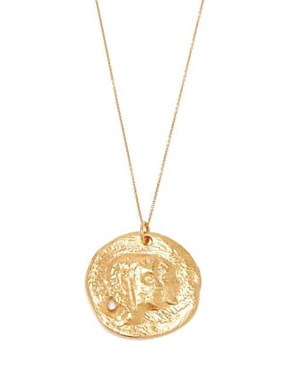 ALIGHIERI The Other Side Of The World Gold Plated Necklace - Womens - Gold