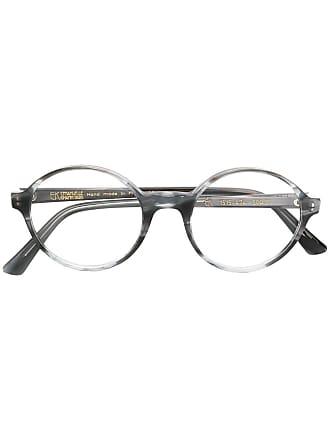 Emmanuelle Khanh round frame glasses - Cinza