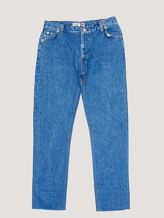 Re/Done Relaxed Cropped Jean