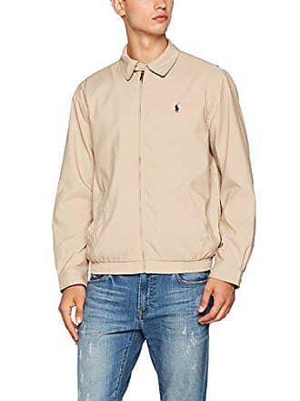 06060d087b6c Polo Ralph Lauren Microfiber, Blouson Homme, Beige (Khaki Uniform A2377),  Small
