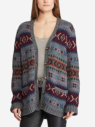 Polo Ralph Lauren Cardigan en laine à motif Multicolore Polo Ralph Lauren faa796722fa7