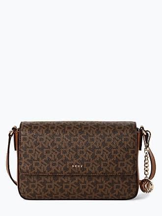 8c530b42af62b DKNY Damen Handtasche mit Leder-Anteil - Bryant braun