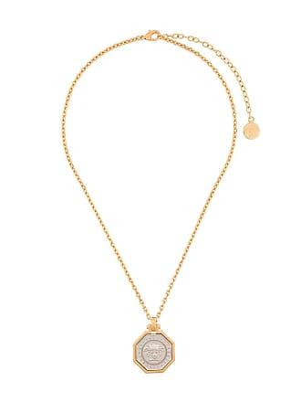 Versace Colar com pingente Medusa - Metálico
