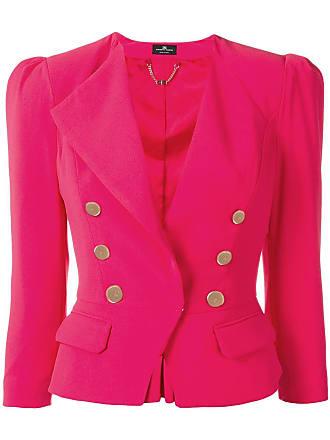 Elisabetta Franchi classic fitted blazer - Rosa
