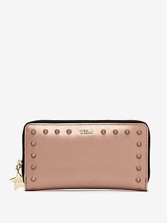 gum large size satin stud wallet