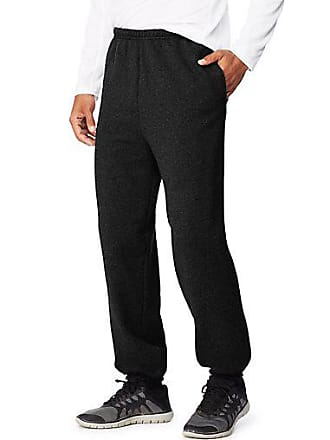 Hanes Sport3; Ultimate Cotton Mens Fleece Sweatpants With Pockets Charcoal Heather 2XL