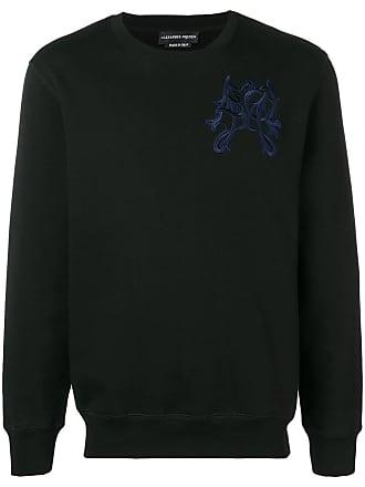 Alexander McQueen embroidered detail sweatshirt - Black
