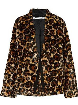 McQ by Alexander McQueen Mcq Alexander Mcqueen Woman Leopard-print Faux Fur Coat Animal Print Size 36