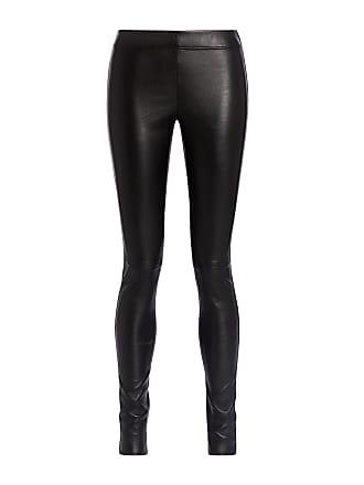 Joseph Stretch Leather Legging Black