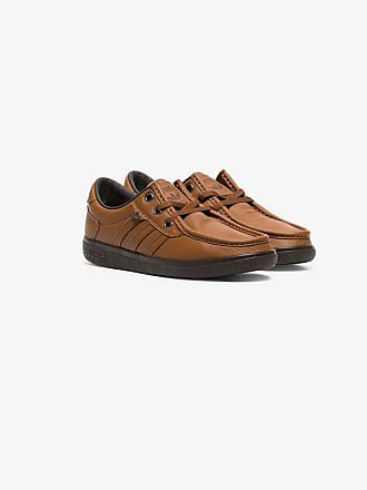 adidas brown punstock SPZL sneakers