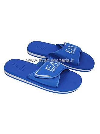 03368de28600 Emporio Armani SEA WORLD SW 275542 CC295 EA7 Flip Flops Blue (UK 6.5   EU