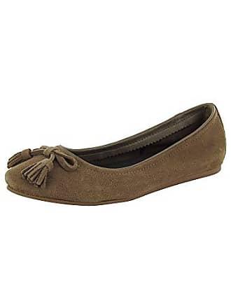 8ecb1aa4f0c0 Crocs Womens Lina Embellished Suede Ballet Flat