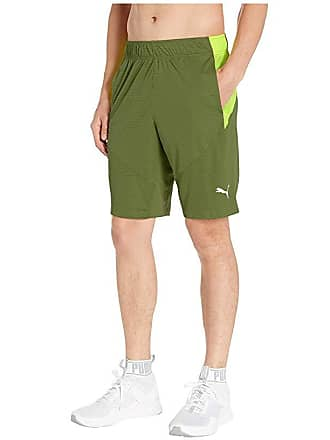 77b91c09e Puma Energy Knit 10 Shorts (Olivine/Fizzy Yellow) Mens Shorts