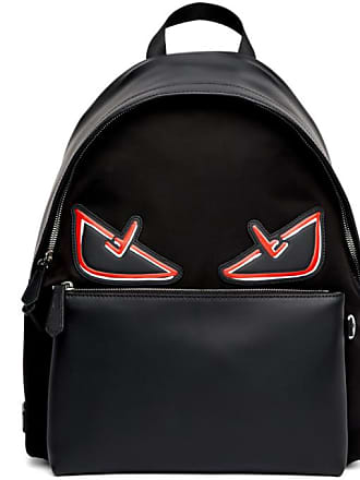 Fendi Black and Red Bag Bugs Backpack 75c909be164d5