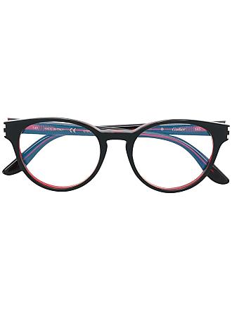 Cartier Armação de óculos C Décor - Vermelho