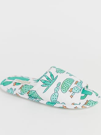 Truffle cactus print slippers - Multi
