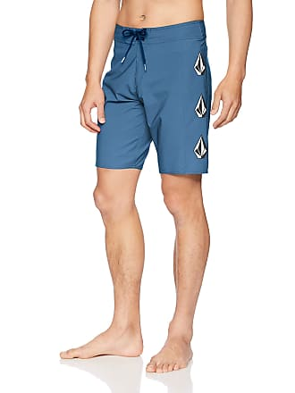 aa95597989 Volcom Mens Deadly Stones 20 Stretch Boardshort Board Shorts, Airforce Blue,  34A