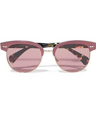 e6c8bf468c Oliver Peoples Oliver Peoples Woman D-frame Tortoiseshell Acetate And  Gold-tone Sunglasses Plum