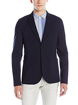 A|X Armani Exchange Mens Classic Jersey Blazer, Navy, Small