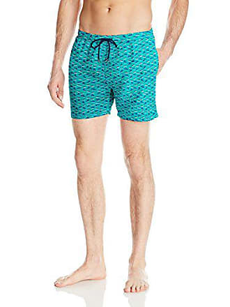 8a4f4b2d HUGO BOSS BOSS HUGO BOSS Mens Piranha Swim Trunk, Turquoise/Aqua, Large