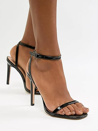 aa4ca76eea2 Public Desire Notion black barely there sandals