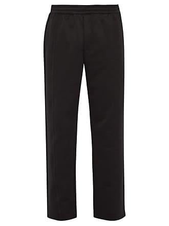 Helmut Lang Side Stripe Track Pants - Mens - Black