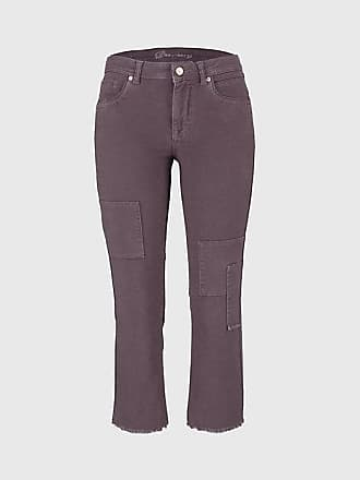 e0d112109779 Deerberg Damen Stretch-3 4-Hose Lysil ebenholz-washed - auch in