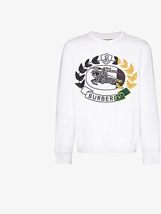 Burberry logo embroidered jumper