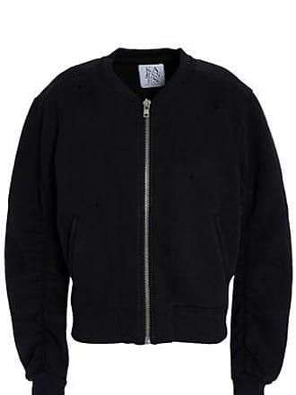Zoe Karssen Zoe Karssen Woman Printed Cotton-blend Bomber Jacket Black Size S