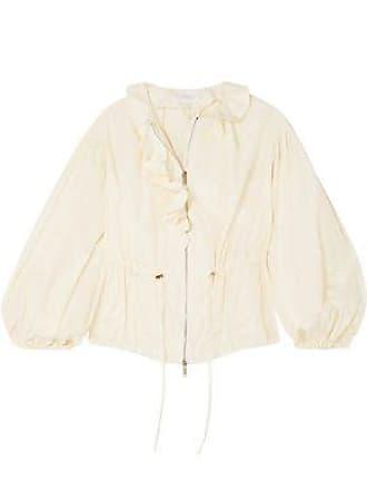 Giambattista Valli Giambattista Valli Woman Ruffled Taffeta Jacket Ivory Size 38