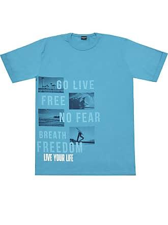 Brandili Camiseta Brandili Menino Escrita Azul