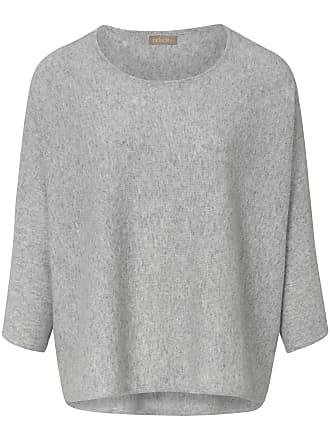 2d5c4554972e include rundhalsad tröja i 100% kashmir från include grå