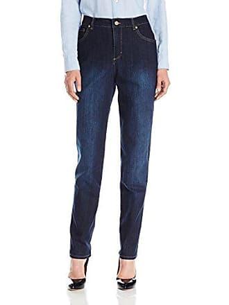 a546ea7442c Gloria Vanderbilt Womens Classic Fit Amanda Straight Leg Denim Jean,  Preston Wash, 14 Short