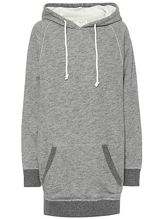 Rag & Bone Racer cotton hoodie dress