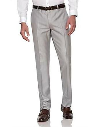 6b646124fbc2c Über Stone Flat Front Wool Pol Twill Plain Trouser