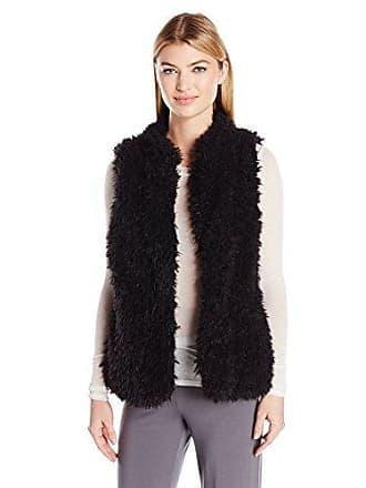 PJ Salvage Womens Vest, Shag Black, Large