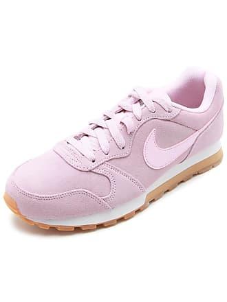 Nike Tênis Couro Nike Sportswear Wmns Md Runne Rosa