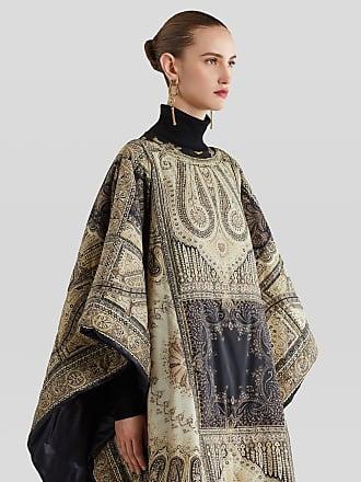 Etro Paisley Print Nylon Cloak, Woman, Beige