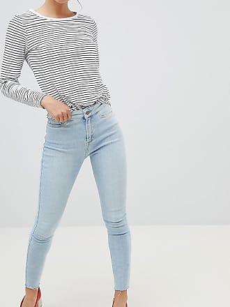 New Look Vanessa - Jeans i super skinny fit med hög midja och fransig fåll - 2565dcf6bb170