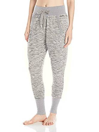 2(x)ist Womens Micro French Terry Harem Pant, Grey, Small