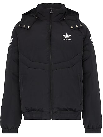 6fac4855df3f adidas Padded hooded feather down jacket - Black