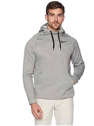 6f5feec0 Nike Thermal Hoodie Pullover (Dark Grey Heather/Black) Mens Sweatshirt