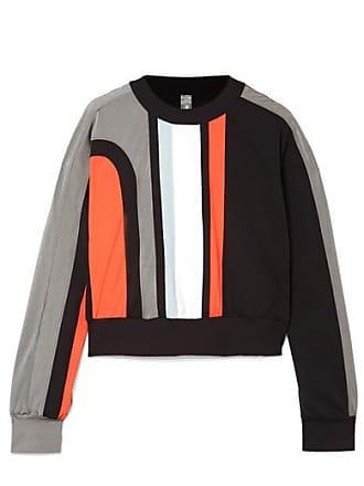 No Ka'Oi Nohona Nau Paneled Stretch Sweatshirt - Black