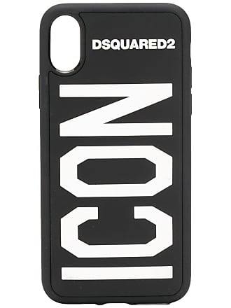 Dsquared2 Capa para iPhone X Icon - Preto