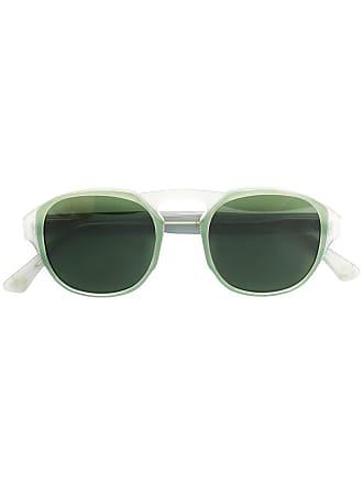 Emmanuelle Khanh round frame sunglasses - Cinza