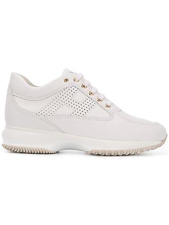 Hogan low-top logo sneakers - White