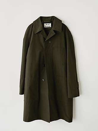 Acne Studios FN-MN-OUTW000062 Olive green Cotton coat