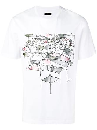 Ermenegildo Zegna graphic print T-shirt - White