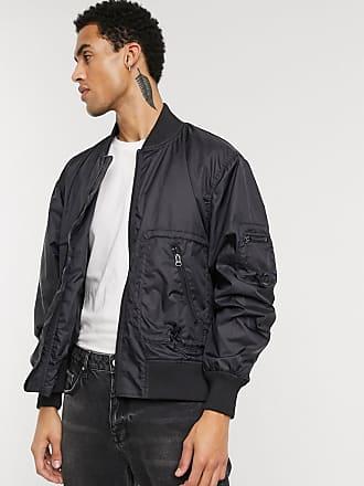 Weekday Blaise Bomber jacket in Black